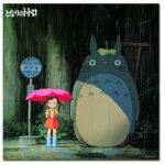 『となりのトトロ 雨の中のサツキとメイ』『AKIRA バイクに乗る金田』のセル画 およそ900万円で落札